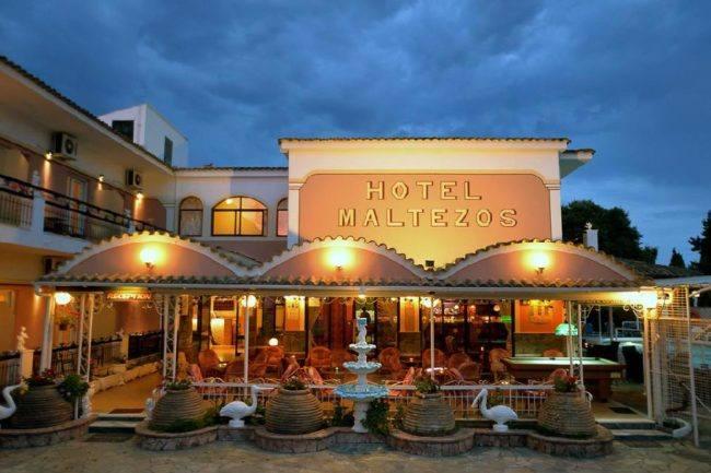 hotel-maltezos-gouvia-corfu-family-holidays-restaurant
