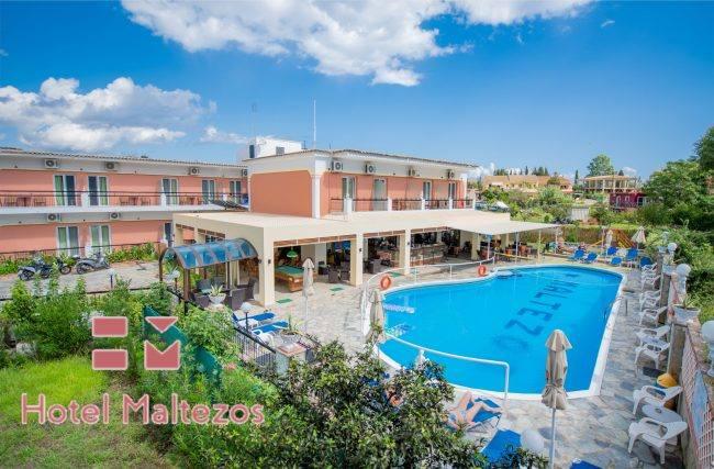 hotel maltezos gouvia